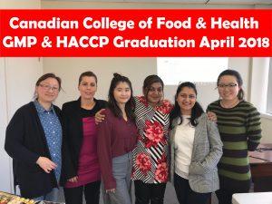 GMP & HACCP Certificate Course Graduation! | Canadian